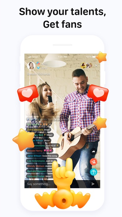 Tango - Go Live & Video Chat Screenshot
