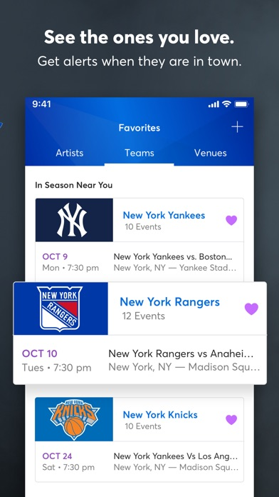 download Ticketmaster apps 5