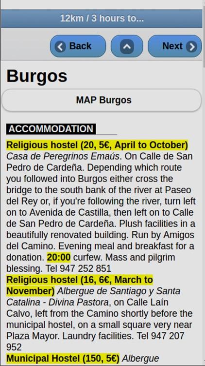Camino de Santiago Walking screenshot-3