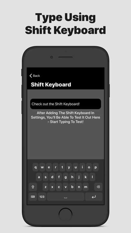Shift Keyboard - Watch & Phone