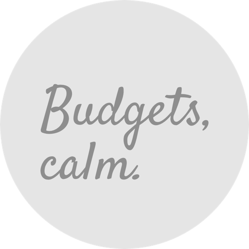 Budgets, Calm. for Mac