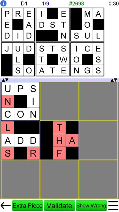 Jigsaw Crossword + screenshot one