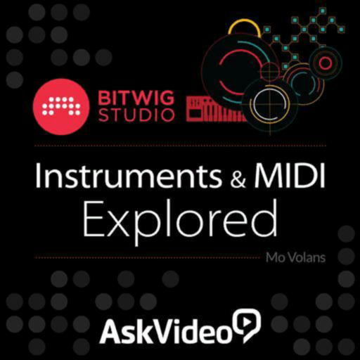 Instruments & MIDI for Bitwig
