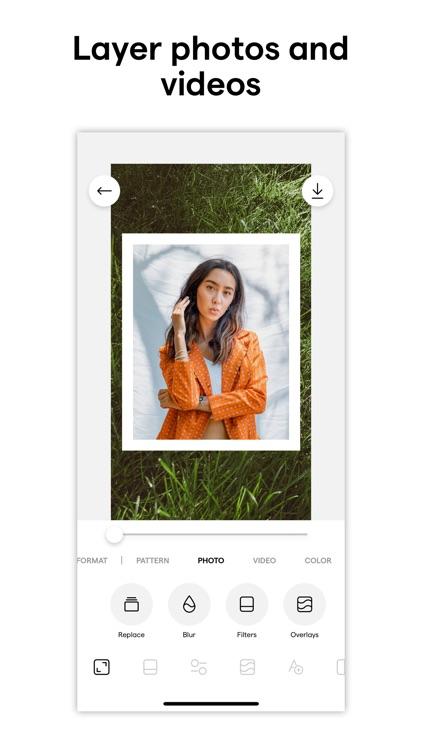 Instasize Photo Editor + Video screenshot-5