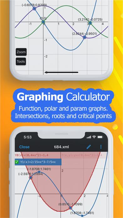 NCalc Taschenrechner PlusScreenshot von 4