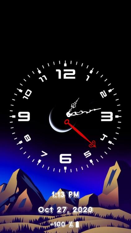 Analog Clock - Stand Face Time screenshot-8