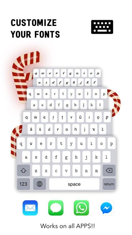 Fonts Keyboard Font Symbol