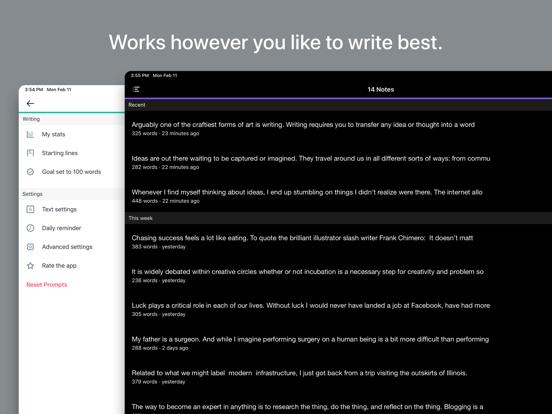 Creative Writing Prompts screenshot
