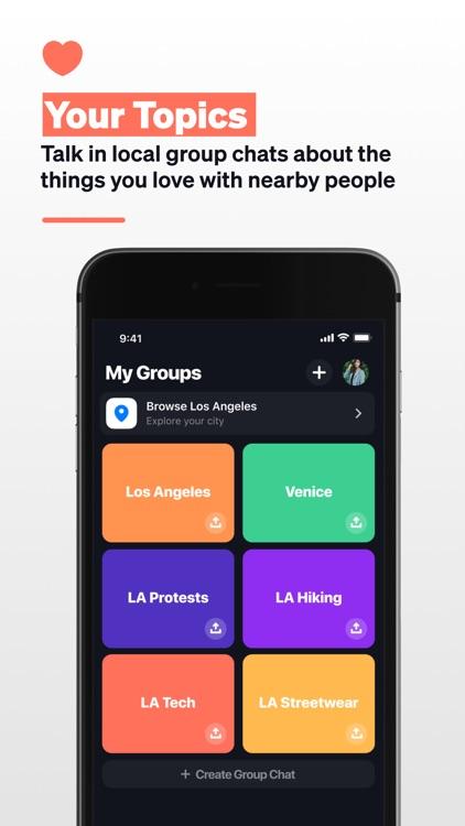 Superlocal: Local Group Chats screenshot-4
