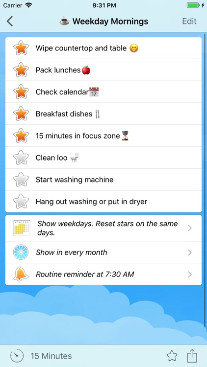 Home Routines screenshot-1