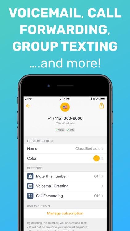 Free Tone - Calling & Texting screenshot-6