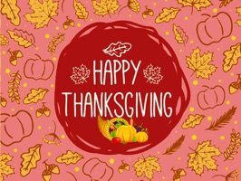 Thanksgiving Day GIF Stickers