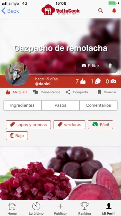 VoilaCook-Recetas de Cocina screenshot-4