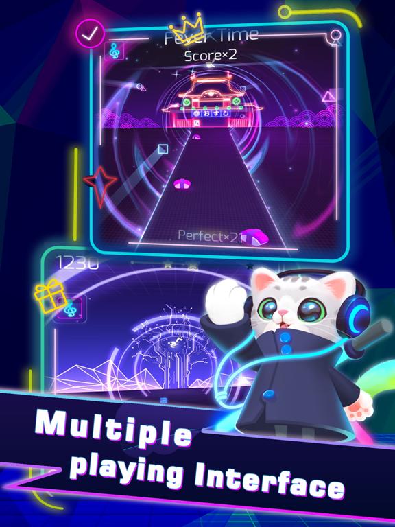 Sonic Cat-Slash the Beats screenshot 9