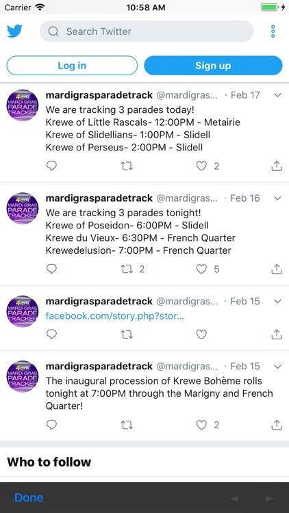 WWL Mardi Gras Parade Tracker screenshot-6