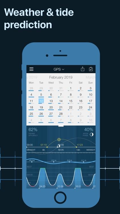 Fishing Calendar, Solunar screenshot-4
