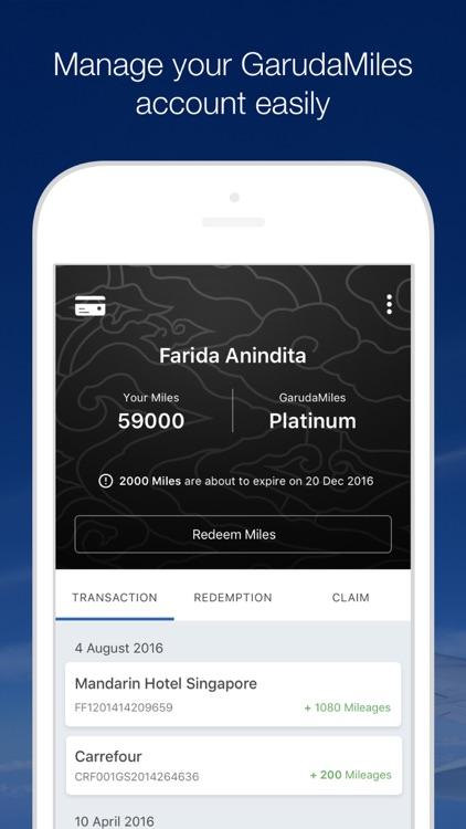 GARUDA INDONESIA MOBILE screenshot-4