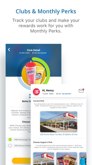Screenshot for Speedway Fuel & Speedy Rewards in United States App Store