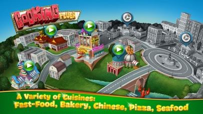 Cooking Fever Screenshot on iOS