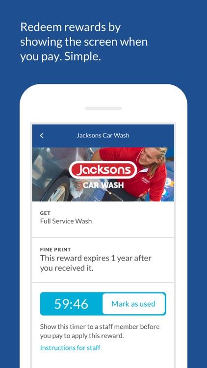 Jacksons Car Wash Rewards
