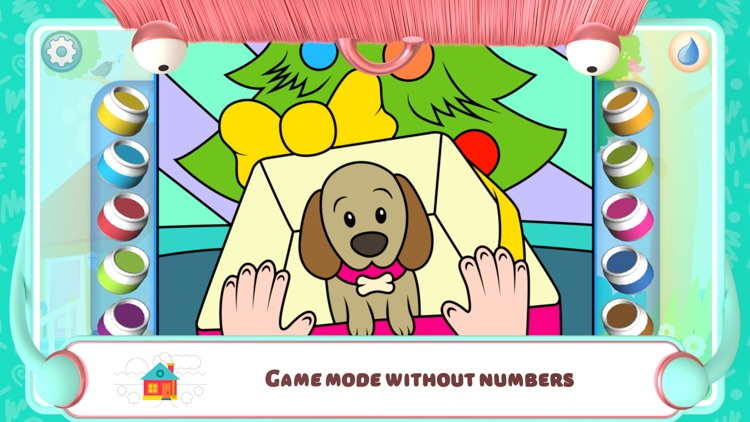 Color by Numbers - Dogs screenshot-5
