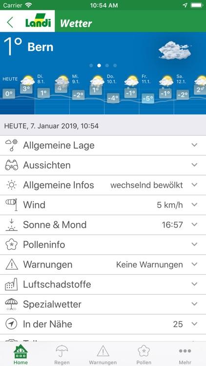LANDI Wetter screenshot-3
