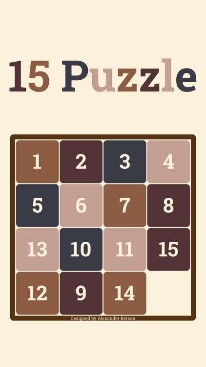 15 Puzzle* screenshot-3