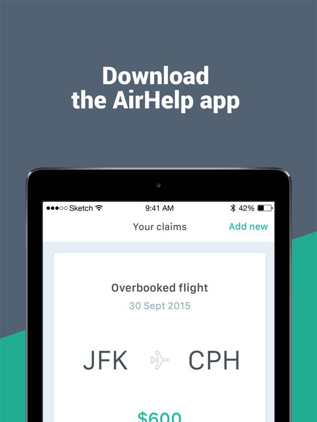 ‎AirHelp – Flight Compensation Screenshot