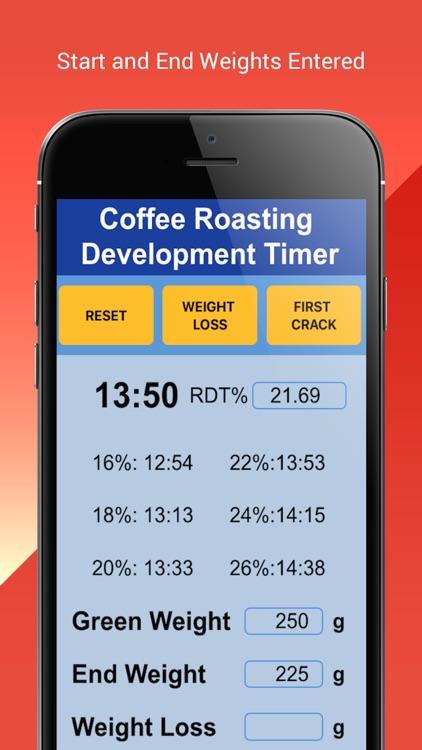Coffee Roasting RDT Timer screenshot-3