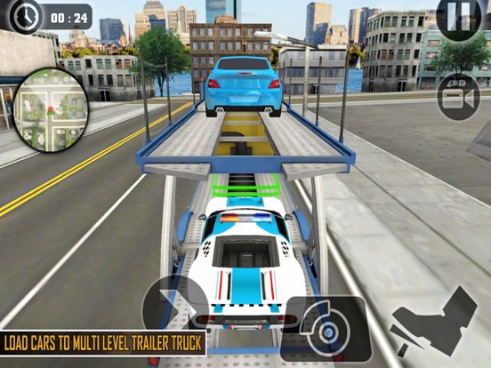 Transporter Trailer Truck New screenshot 4