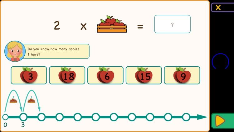 Multiplication Tables & Apples screenshot-3