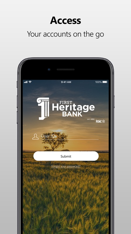 First Heritage Bank Mobile