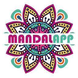 Coloring Book - Mandalapp