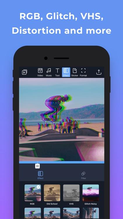 Filmr- easy video editor screenshot-4
