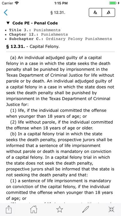 TX Code of Criminal Procedure screenshot-6