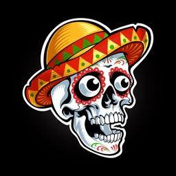 Animated Skulls&Tattoo Sticker