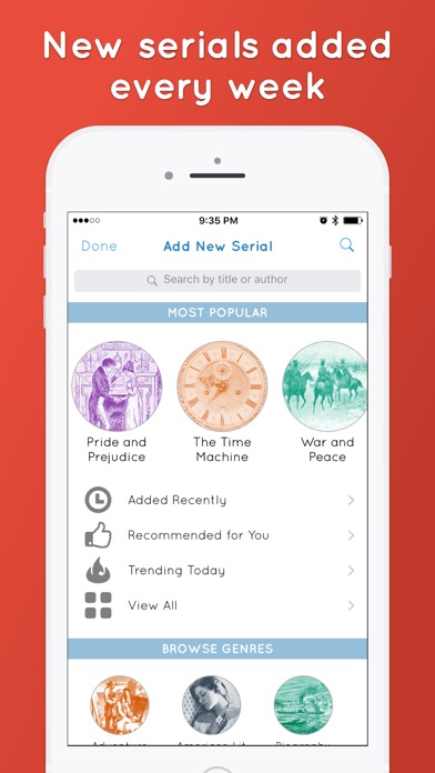 Screenshot for Serial Reader in United States App Store