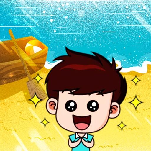 Sunshine little boy
