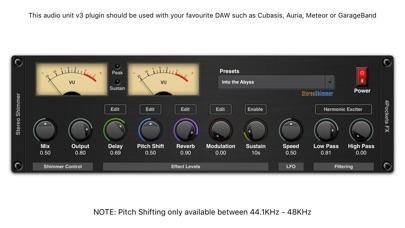 Shimmer AUv3 Audio Plugin screenshot 1