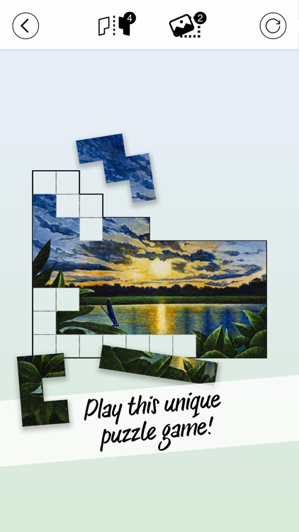 Pictominoes: Jigsaw Puzzles screenshot-0