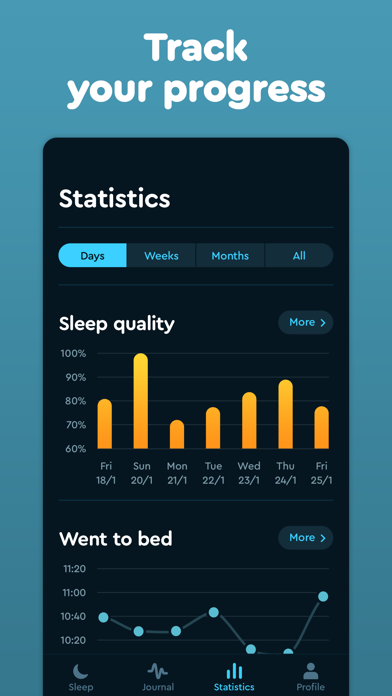 Sleep Cycle: smart alarm clock Screenshot