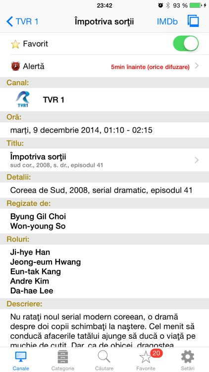 Romanian TV Schedule screenshot-2