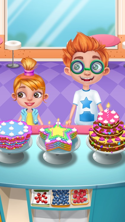 Cooking Cake: Baby Candy Chef