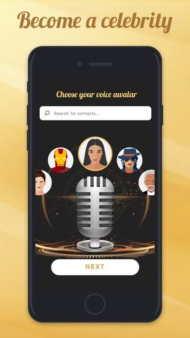 Voicy: Celebrity Voice Changer screenshot 1