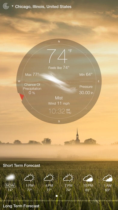 Weather Live° Screenshots