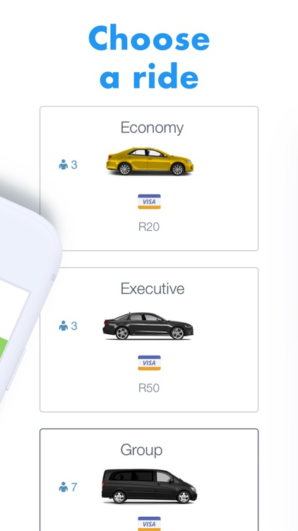 iCab: Mzansi cab rides screenshot-4