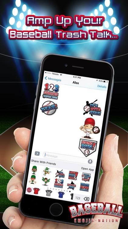 Baseball Emojis Nation