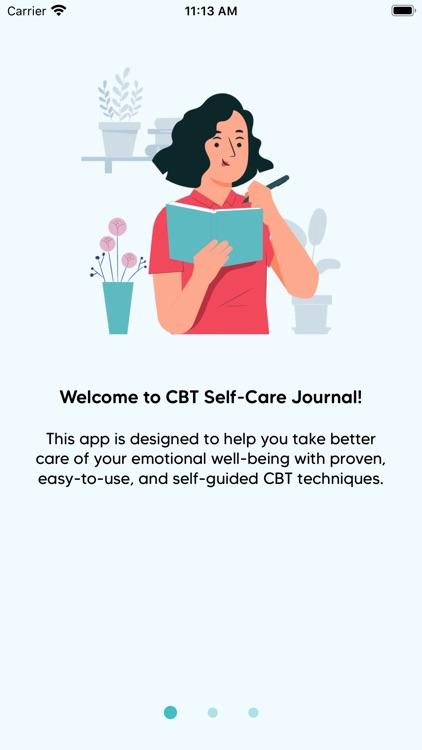 CBT Self-Care Journal