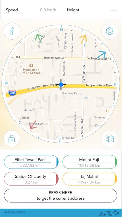 Direction Compass With Maps screenshot-0