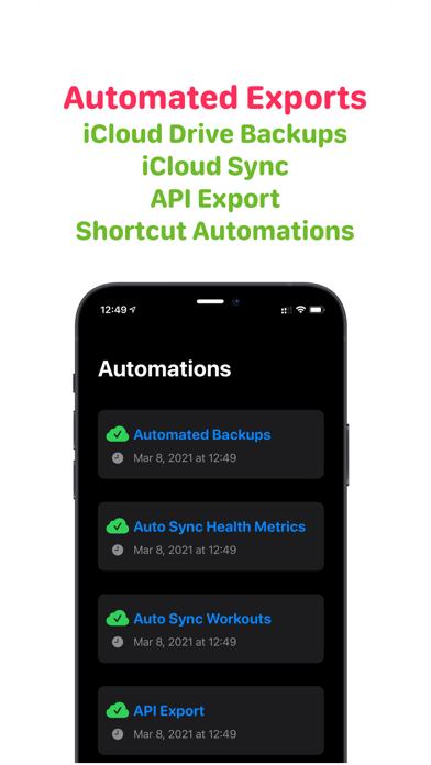 Health Auto Export - JSON+CSVのおすすめ画像2